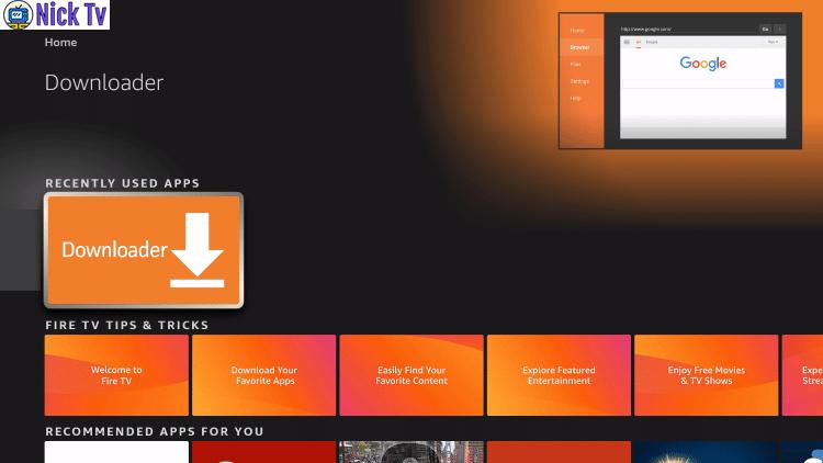 Amazon FireStickTv Downloader