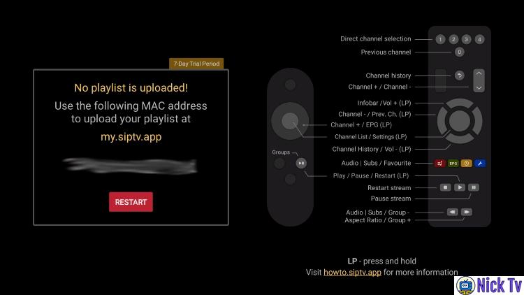 adresa mac smart iptv