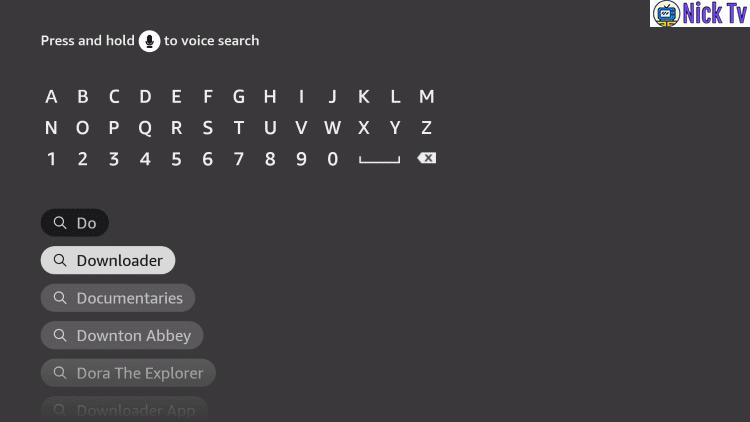 Nicktv Downloader search